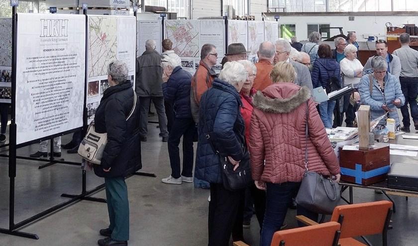 In april was er bij kwekerij Sap al veel belangstelling voor de expositie.