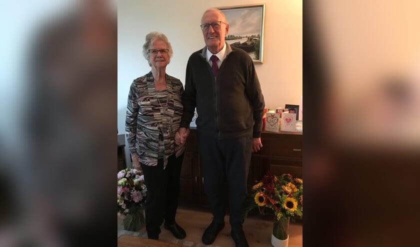 Dinsdag 22 oktober was het Bruidspaar Ijpe en Hillie Glas-Elzinga uit Sint Pancras 60 jaar getrouwd.