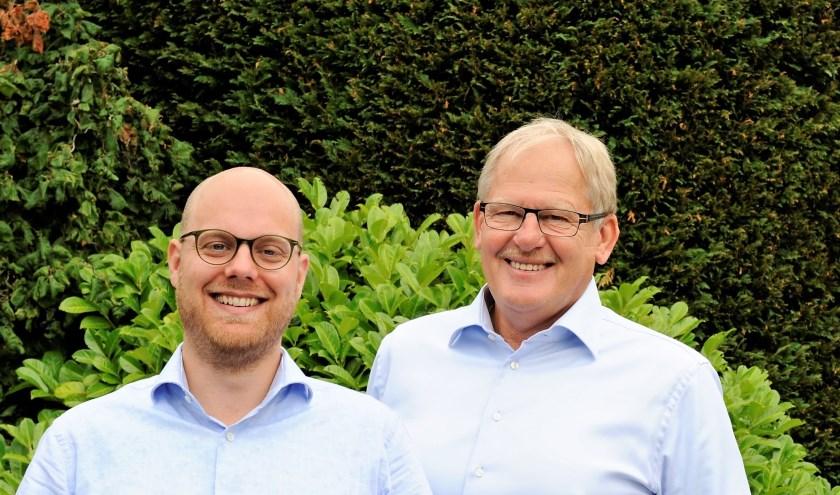 Piet-Wim Klaver (links) en Adriaan Jongejan.