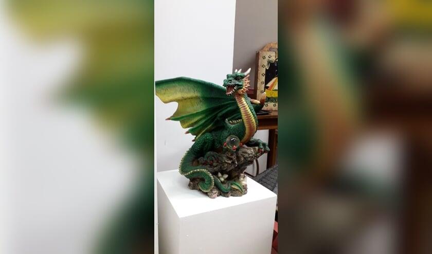 De grote goene draak.