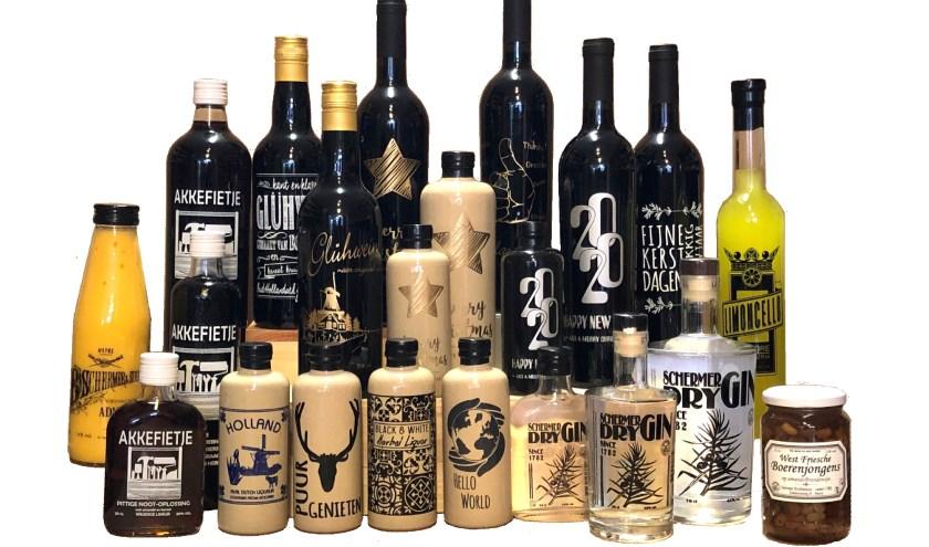 Onderscheidend met Schermer Wijnkoper & Distillateur.