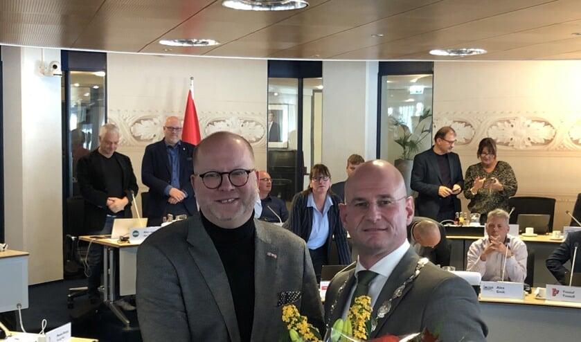 De Hoornse raad installeerdedinsdag 29 oktoberArthur Helling met unanieme stemmen als wethouder in Hoorn.