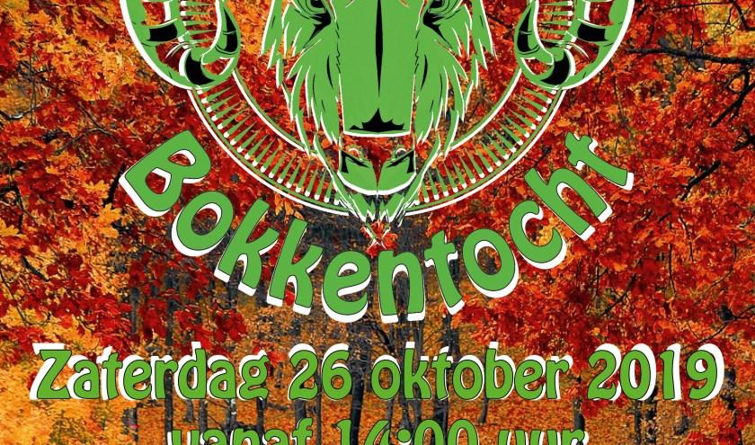 De poster van de Castricummer Bokkentocht.