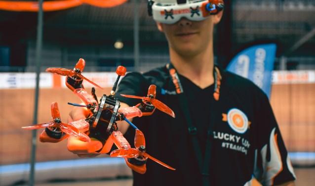 Nederlands Kampioenschap Indoor Drone Racen 2020 in Sportpaleis Alkmaar.