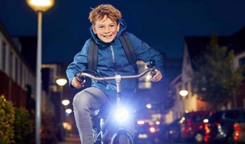 De fietsverlichtingsactie bi het Repair Café Beverwijk is op 19 oktober.