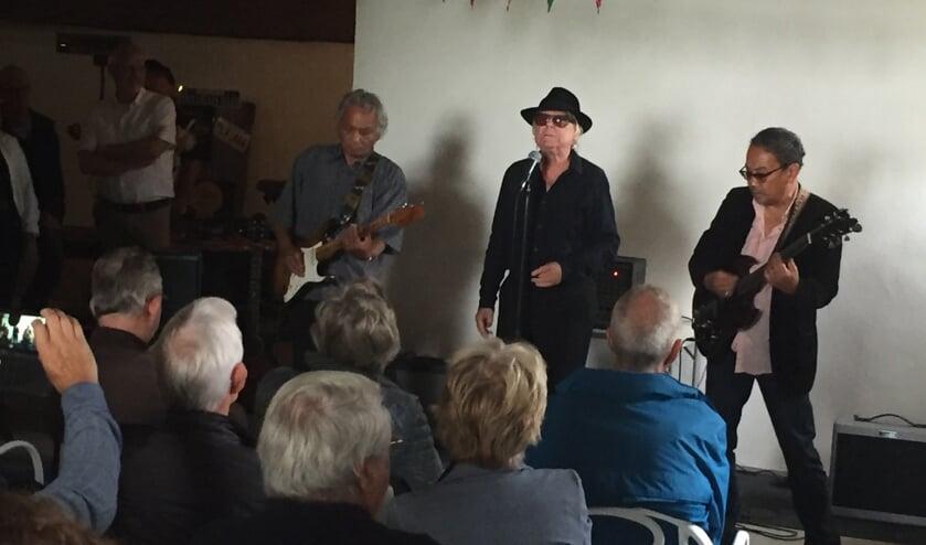De blueslegende trad onlangs nog op tijdens Muziek aan de Middenweg.