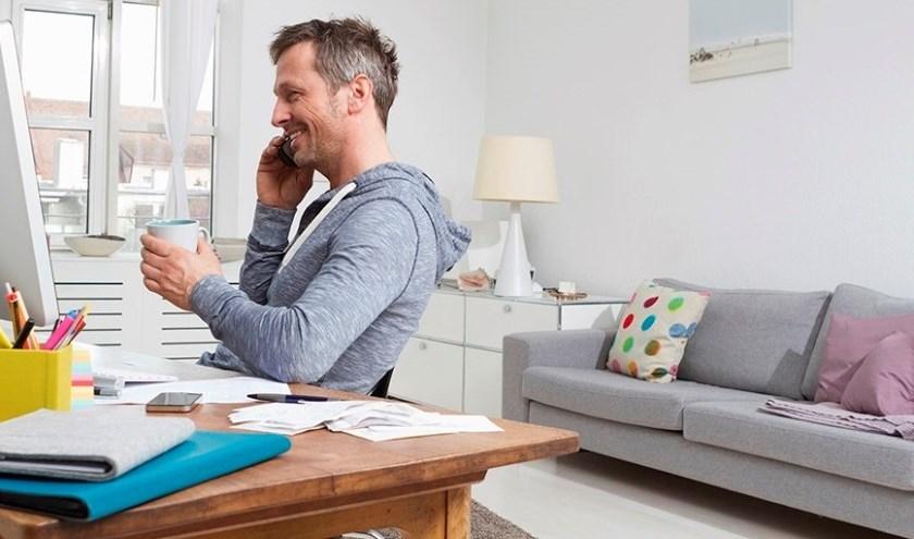 Hogere productiviteit bij flexibel werken.
