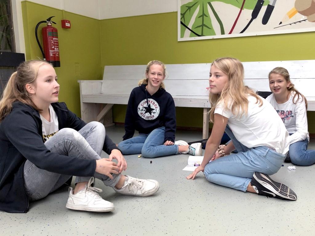 PCCBergen v.l.n.r. Liselot (12 jaar, Schoorl), Elise (11 jaar, Bergen), Roos, 12 jaar, Schoorl), Fleur (12 jaar, Schoorl)  © rodi