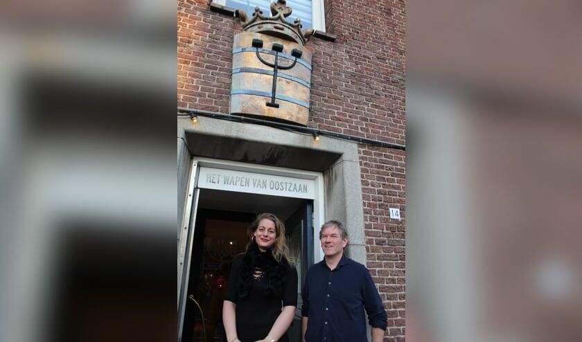 Hubert VanderWalle en Rosemarijn Dral (JWvD)