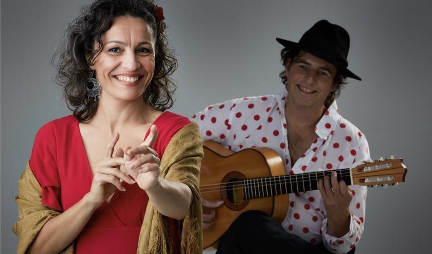 Mónica Coronado en Manito staan zondag 20 oktober in de Lucaskerk.