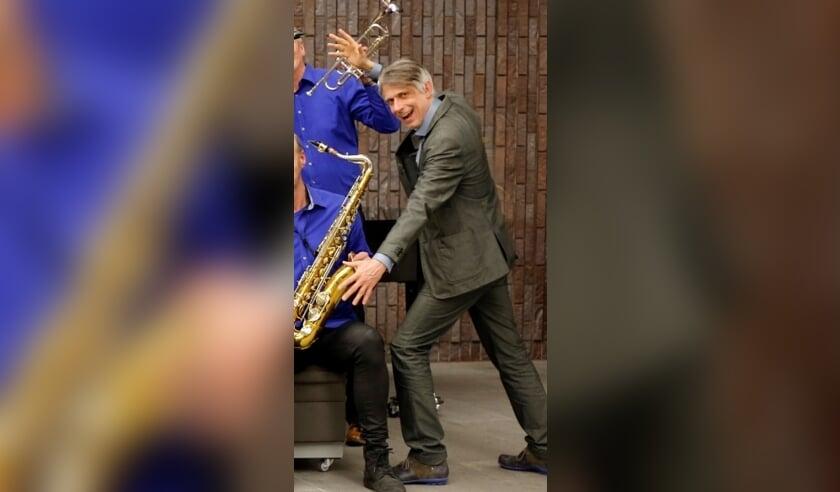 Jazz-maestro Konrad Koselleck neemt afscheid.
