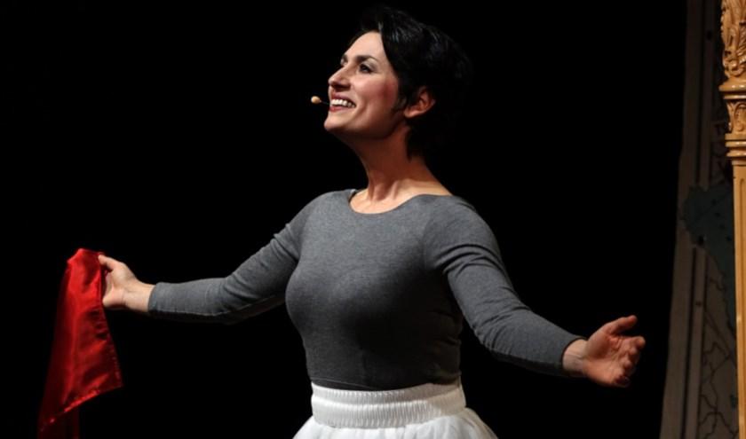 De mezzosopraan, harpiste en gepassioneerd vertelsterEkaterina Levental