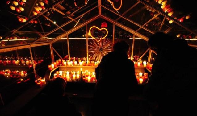 Prachtige tijdens Nacht van de Doden Museumnacht.