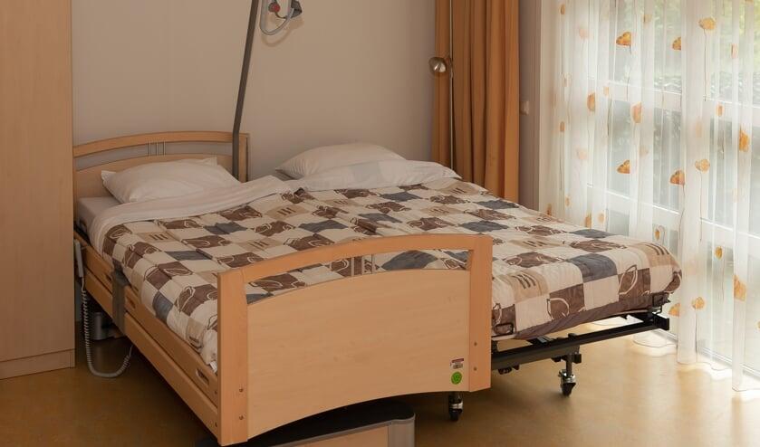 Dankzij het koppelbed is het mogelijk dat een partner of naaste op dezelfde hoogte kan slapen.