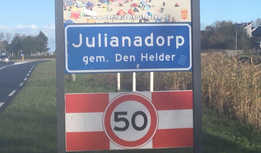 Julianadorp is geselecteerd.