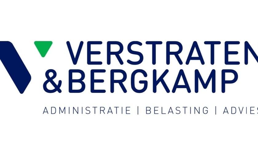 Het logo van Verstraten & Bergkamp.