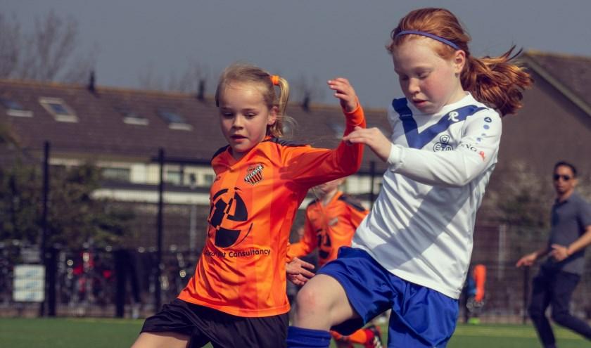 Ook deze meiden mogen blijven dromen van de Oranje Leeuwinnen.