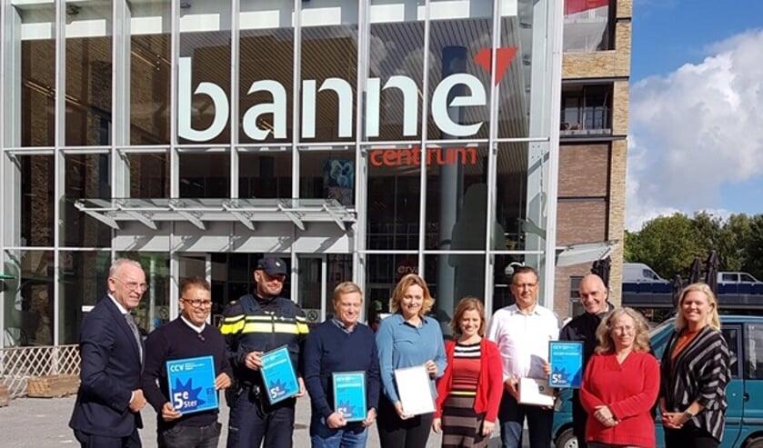 Keurmerk Veilig Ondernemen voor Winkelcentrum Banne