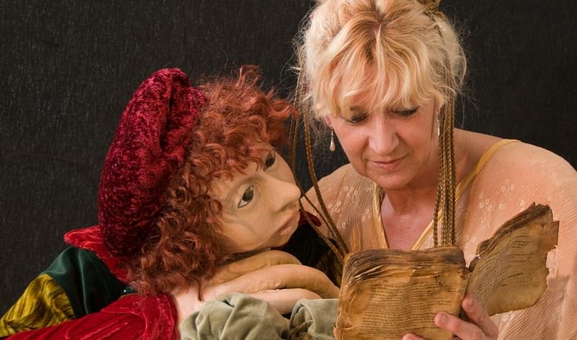 Ila van der Pouw speelt de familievoorstelling Titus over de weerbarstige, dwarse zoon van Rembrandt.