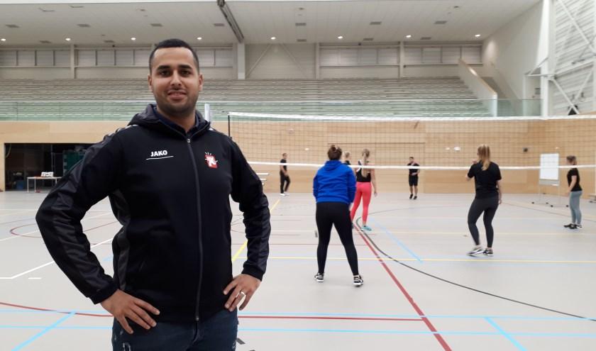 Younes Abrari organiseert een Sportspektakel in De Meent.