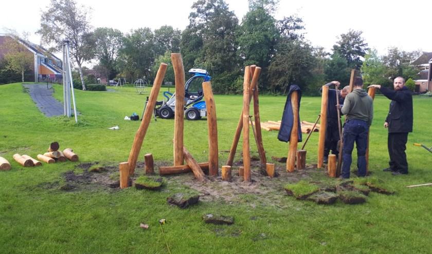 Jong en oud hebben meegedacht aan het opnieuw inrichten van Koogpark.