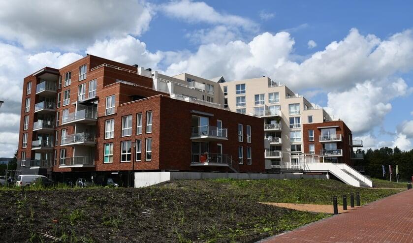 Kop West, de nieuwe wijk van Purmerend is dicht tegen de Beemster aan gesitueerd.