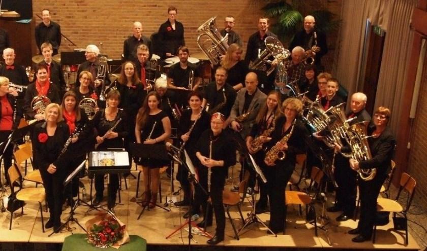 Breez'Harmonie concert in de Keesschuur.
