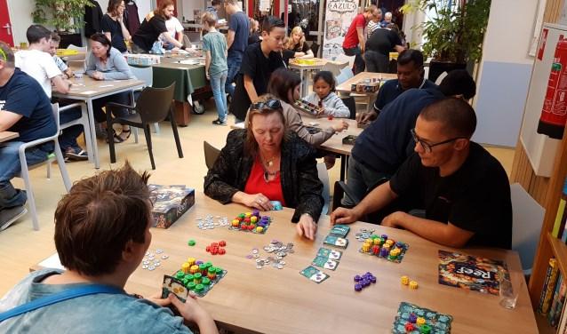 Kinderspellen, familiespellen en strategische spellen; kom ze allemaal uitproberen in De Zaagtand.