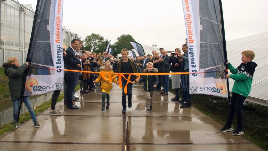 De opening van het grootste zonnewarmtesysteem werd feestelijk gevierd. (Foto: Klomp Creative) © rodi