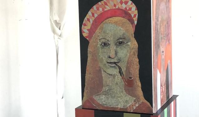 Maria Wolfram (Finland) – The Totem – schilderijen-kubus