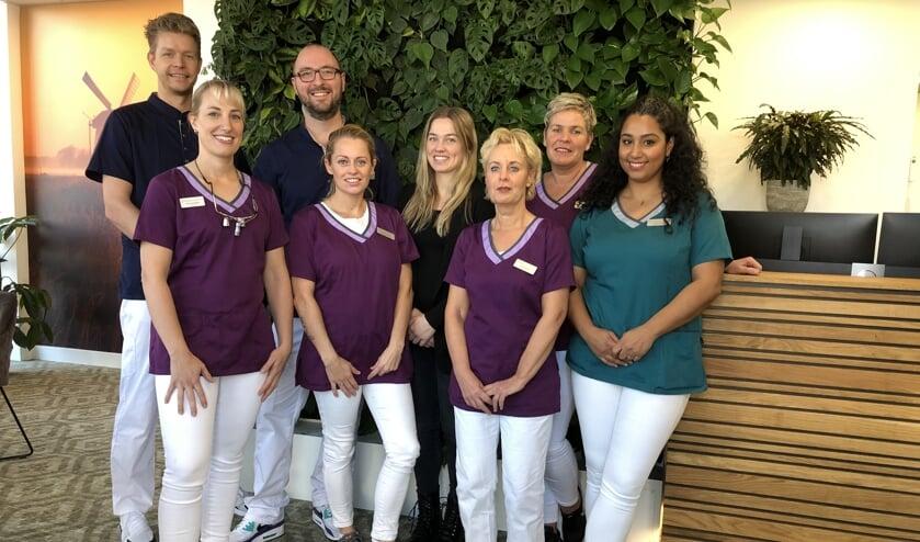 Vlnr: Sander, Ingrid, Arjan, Samantha, Carola, Petra, Jaqueline en Hibah. Niet op de foto Toon Rigter, Kelly, Sandy, Joyce, Linda en Marielle.