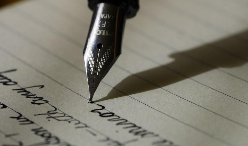 Wie heeft er een leuke pen?