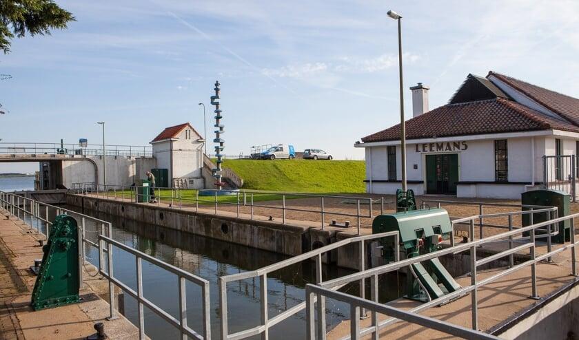 Gemaal Leemans in de Wieringermeer dat ook in 2020 wordt gerenoveerd.