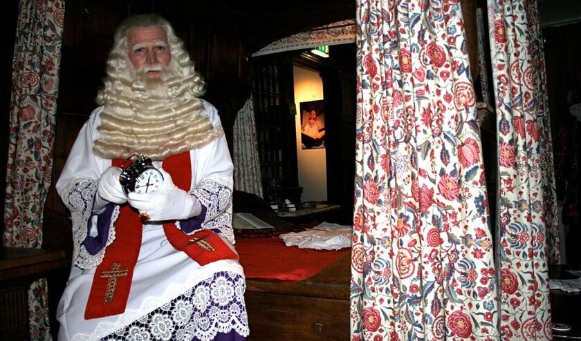 Tijdens zijn verblijf in Nederland logeert Sinterklaas in het Westfries Museum.