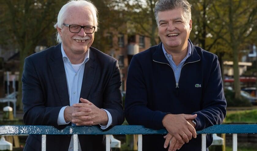 Wouter van Waardt (l) en Richard Gort
