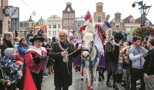 Sinterklaas komt zaterdag 16 november weer aan in Alkmaar.