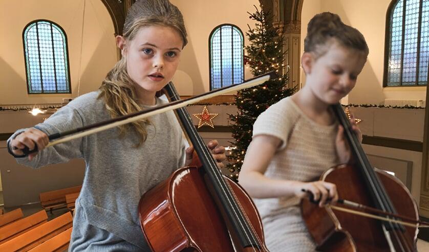 Kerstconcert door leerlingen en docenten Hallo Muziek Academie.