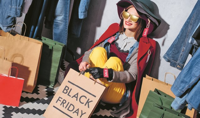 Black Friday is op vrijdag 29 november.