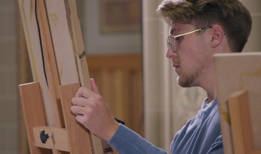 Sebastiaan Groot geniet van het project Rembrandt.