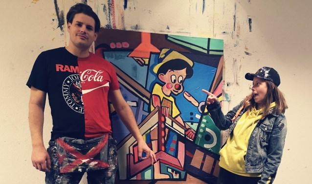 Iedereen is 1 en 22 december van harte welkom in het atelier van kunstenaar Roy Valentijn.