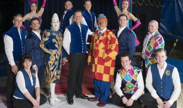 De artiesten van het circus zijn er helemaal klaar voor.