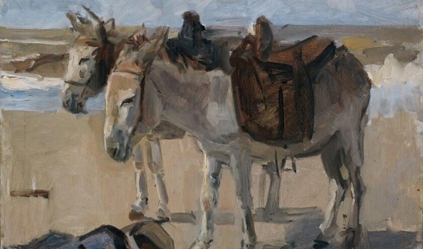 'Twee ezeltjes' van Isaac Israels.