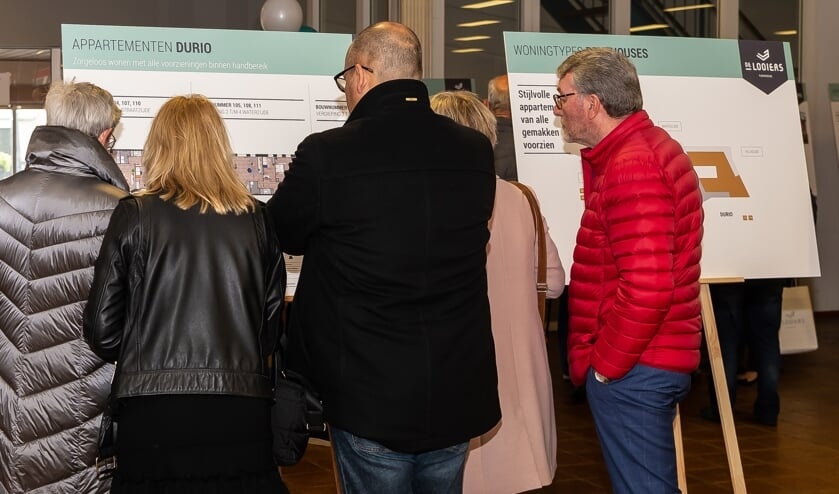 Uit de informatiebijeenkomsten bleek de populariteit van het project. Donderdag 21 november start de bouw.l