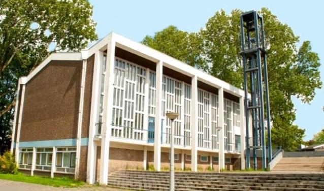 Caroline de Groot in de Bethelkerk.