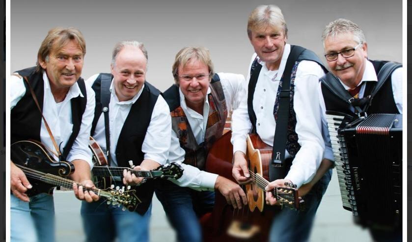 De bluegrassband Stroatklinkers komen naar Wadway.