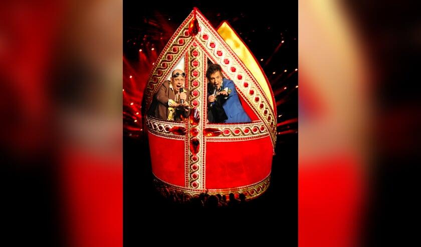 Theater Quk's speelt de familievoorstelling 'Sinterklaas in Rosso' in Het Park.