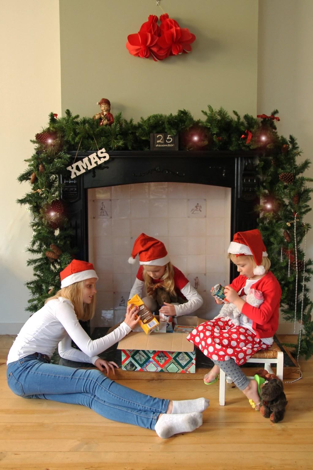 Een prettige kerst voor iedereen door de Kerstactie. (Foto: aangeleverd) © rodi