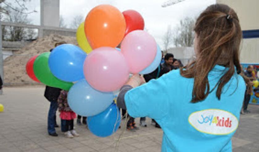 Ballonnen en andere leuke bezigheden bij hoop voor Noord op vrijdag 15 november.