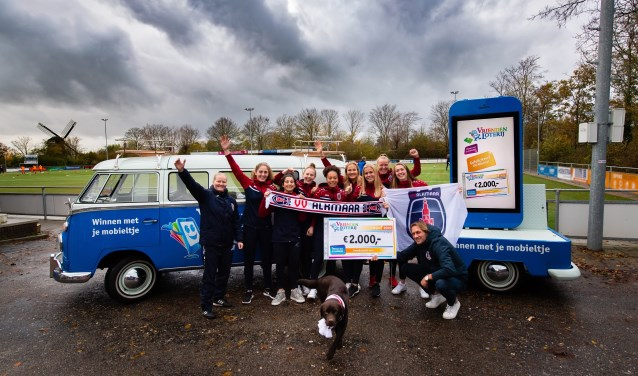 VV Alkmaar ontvangt een eenmalige extra bijdrage van 2.000 euro van de VriendenLoterij.