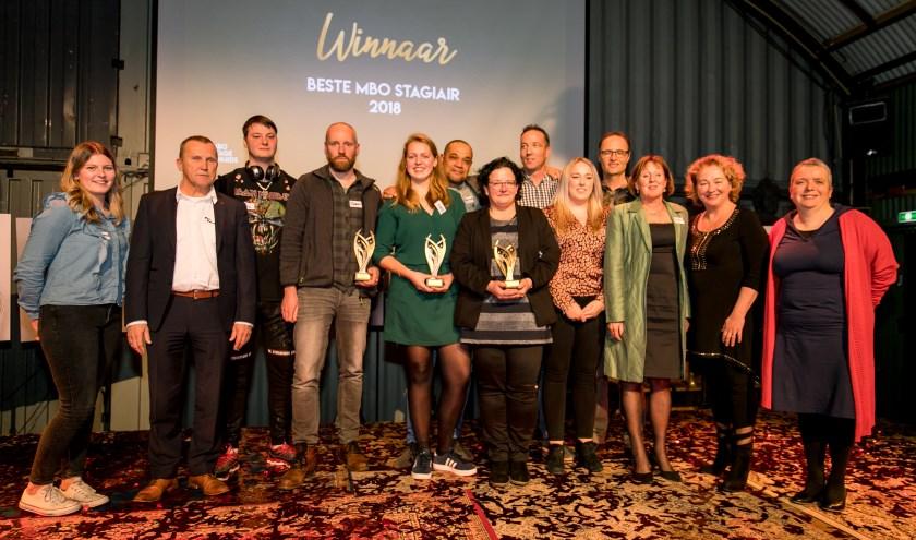 Winnaars MBO Stage Awards Noord 2018.
